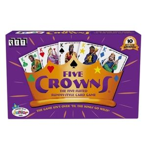 NIB Five Crowns Card Game